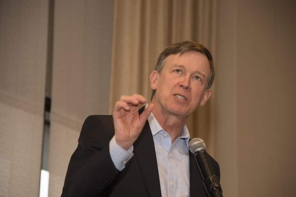 Governor Hickenlooper at Economic Club of Colorado