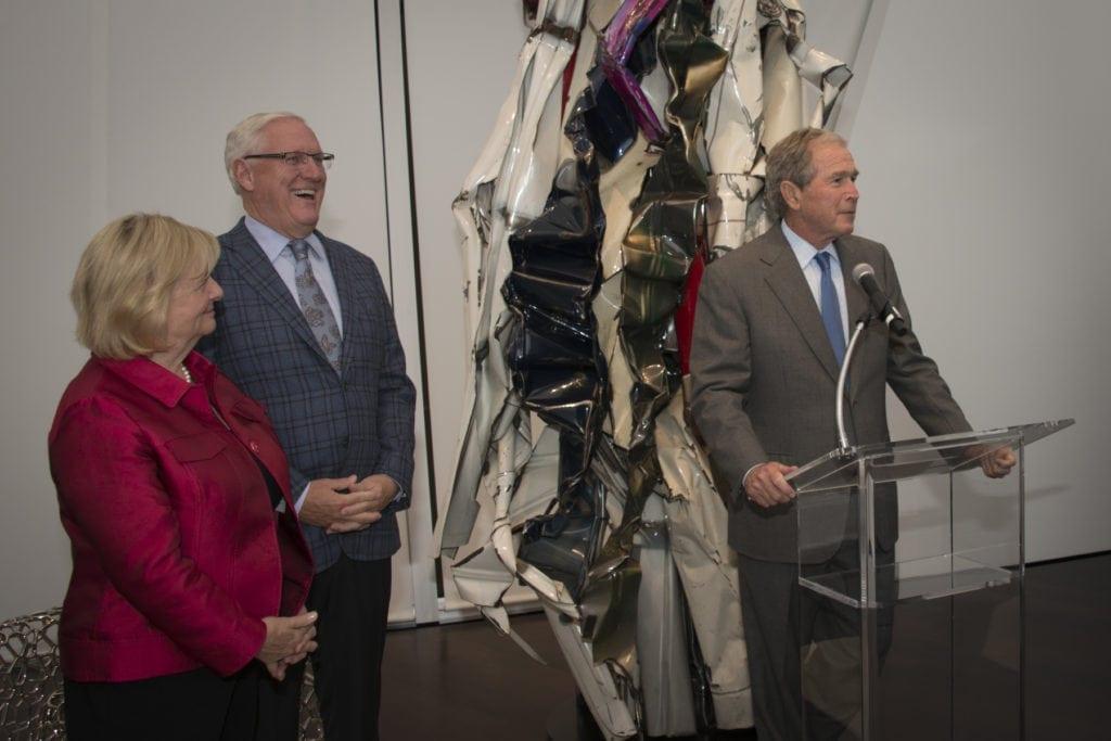 George W. Bush with Sharon & Lanny Martin