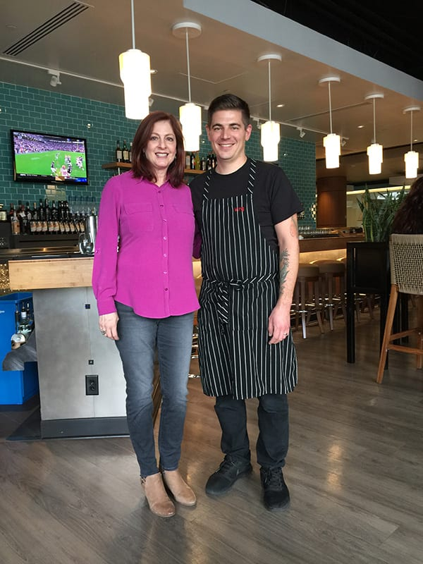 Elizabeth Anthony & Austin Cuteo, Executive Chef & CO-Owner of Mila Restaurant